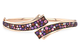 C234-24870: BANGLE 3.12 MULTI-COLOR 3.30 TGW (AMY,GT,PT)