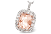D234-22134: NECK 4.20 MORGANITE 4.66 TGW