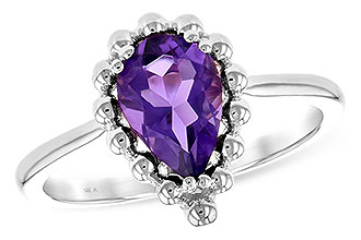 E235-13070: LDS RING 1.06 CT AMETHYST
