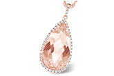 F234-22106: NECK 6.33 MORGANITE 6.63 TGW