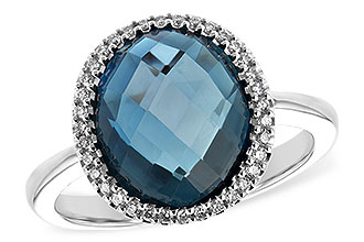 H235-11197: LDS RG 5.31 LONDON BLUE TOPAZ 5.45 TGW