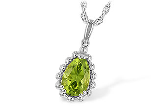 L235-13079: NECKLACE 1.30 CT PERIDOT