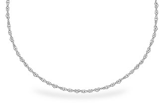 L318-79379: 1.5MM 14KT 24IN GOLD ROPE CHAIN WITH LOBSTER CLASP