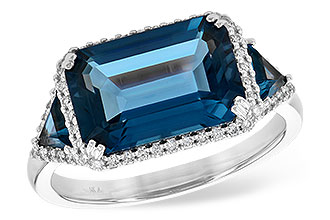 M236-02133: LDS RG 4.60 TW LONDON BLUE TOPAZ 4.82 TGW